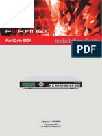 Fortinet Network Router 500A