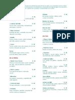 Carta de Alimentos Esp 2014 PDF