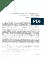 A crítica do nazismo na hermenêutica filosófica de H.-G. Gadamer.pdf