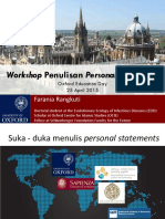 (4) - Sesi 2 - Fara - Workshop Personal Statements 2015
