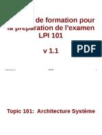 Topic 101 Architecture Système