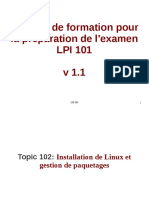 Topic 102_ Linux Installation and Package Management