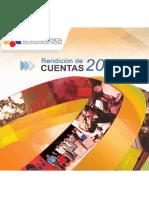 Libro de Rendición De  Cuentas 2014