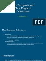 unit 1 part 4 - new england colonization