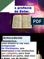 La Profecía de Ester.