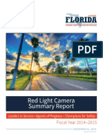 Red Light Camera Report by Florida Highway Safety and Motor Vehicles