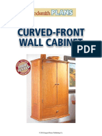 Curved Front Wall Cabinet