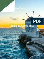greek cruise sheet