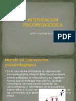 Caso - Intervención Psicopedagogica