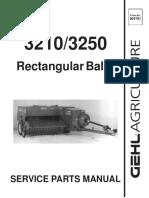 302. Katalog Rezervnih Dijelova Za Presu Za Sijeno Gehl 3210-3250