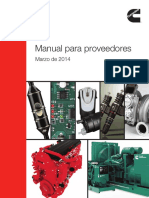 Cummins Supplier Handbook-Spanish