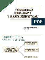 Clase Criminologia