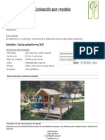 Casita Plataforma 3x3