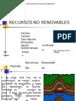 Clase No 4, Recursos No Renovables.pptx