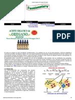Aceite Orgánico de Oregano Silvestre