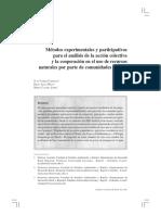 Cárdenas, J., Maya, D., López, M. 2011. Métodos experimentales y participativos para el análisis.pdf