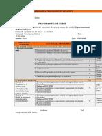 Procedura PO9 Programul de Audit