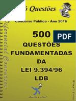 504_LDB - Lei 9.394_96 - Apostila Amostra