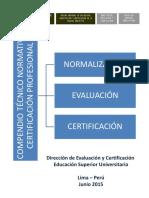 Compendio Técnico Normativo