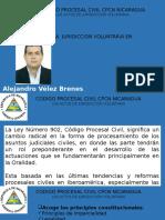 Los Actos de Jurisdicción Voluntaria en Nicaragua