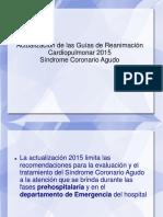 3 - Sindrome Coronario Agudo. Actualizacion