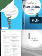 Gramática - Exercícios 3.º Ano