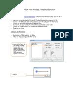Te100-p1p Tew-p1pg Win7 Instuction
