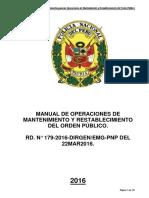 Manual de Operaciones de Mantenimiento y Restablecimiento de Orden Público-2016