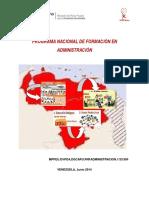 Documento Pnfa 2014