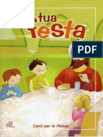 Alla Tua Festa_Francesco Buttazzo_spartiti