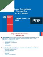Orientaciones Al Docente Para Implementar Bases Curriculares Matemática 2012