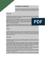 Diferencias Entre Unitarios y Federales