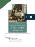 Toño Queni - El Alzamiento de La Filosofía Moderna (1)