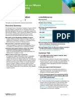 SQL Server on VMware-Support and Licensing Guide