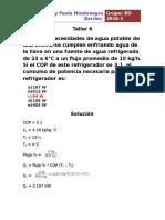 Solucion Taller 6 termodinamica