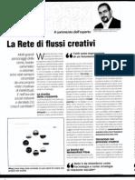 La rete di flussi creativi - di Davide Bennato