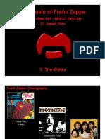 Zappa Works 02-19-12