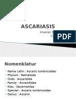 ASCARIASIS presentasi