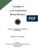 Principles of Naval Architecture Vol 2 Resistance Propulsion Vibration