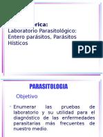 Laboratorio Clínico - Enfermedades Parasitarias
