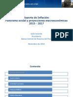 Reporte de Inflacion Diciembre 2015 Presentacion