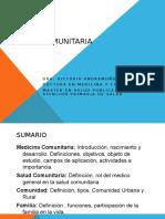Retroalimentacion Salud Comunitaria i