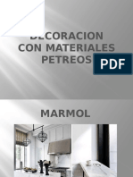Decoracion Con Materiales Petreos
