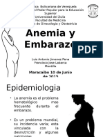 Anemia y Embarazo Final