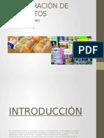 PROLIFERACIÓN DE PRODUCTOS ´PRESENTACION