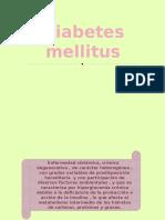 Diabetes Cx