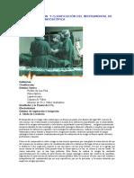 Caracterización y Clasificación Del Instrumental de Cirugía Video Endoscópica