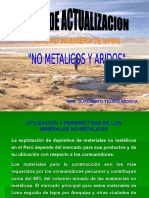 Listado de Productos Mineros No Metalicos (1)