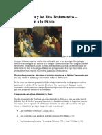 La Tipología y Los Dos Testamentos