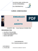 Sesion Educativa Embarazo Yy Aborto